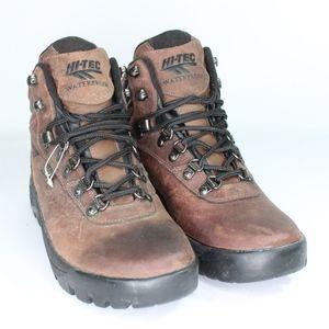 Vtg New Hi Tec Mens 9 Boise Waterproof Boots Brown